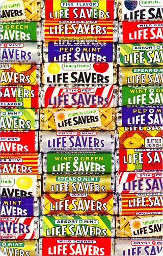 LifeSavers - I remember every yummy flavour and how hard it was to pick just one! heeehhe!