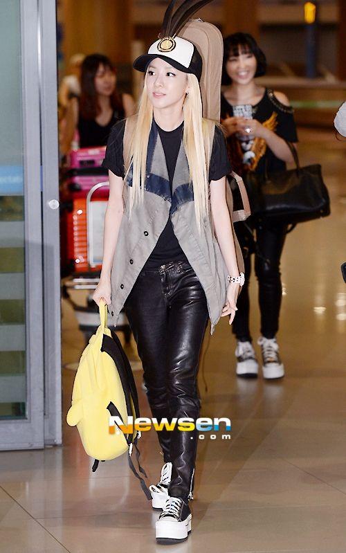 DARA [2NE1] | 130825 Back from Japan @ Incheon Airport