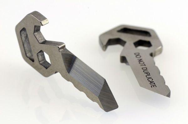 Prometheus Emergency Box / Bottle Opener and Keychain QR by Prometheus Lights — Kickstarter