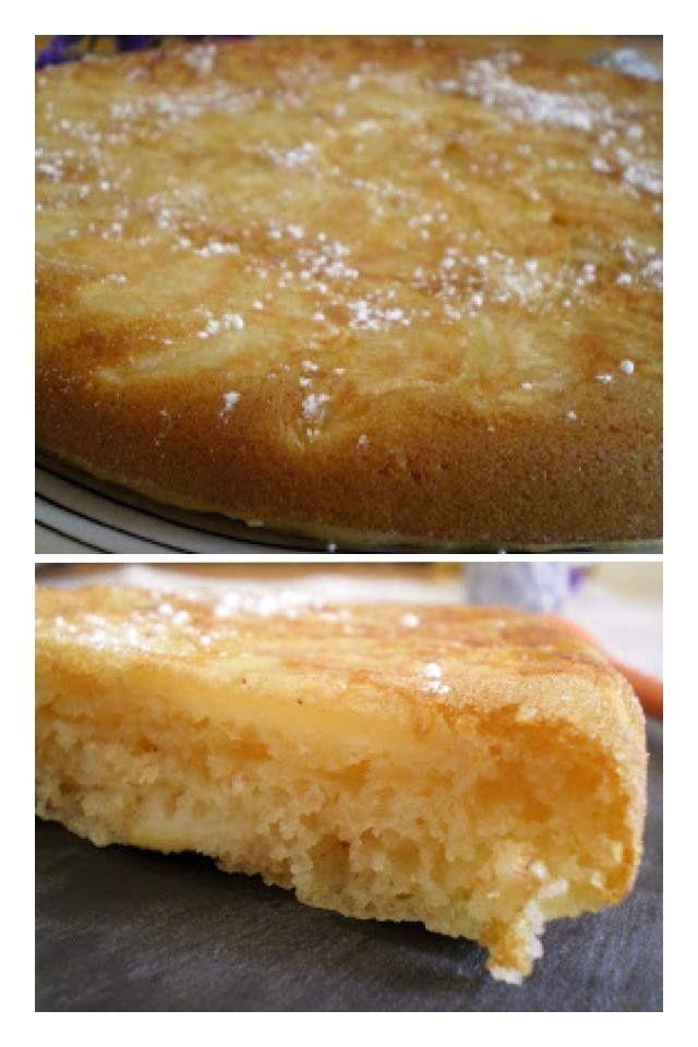 Ce gâteau est à la fois moelleux et fondant et le goût des pommes est très présent. En plus, il est très simple et très rapide à réaliser. Parfait pour un petit déjeuner, goûter ou dessert Recette pour 6/8 personnes (un moule à gâteau de +/- 20 cm de diamètre) Préparation: 15 minutes Cuisson: 30 minutes Ingrédients : 4 pommes 150 g de farine 1 sachet de levure 50 g de margarine (tournesol) si vous n'en trouvez pas : 50ml d'huile de tournesol 25 cl de lait de soja (ou autre lait végétal) 60…