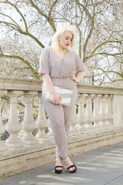 London based fashion plus size model Felicity Hayward