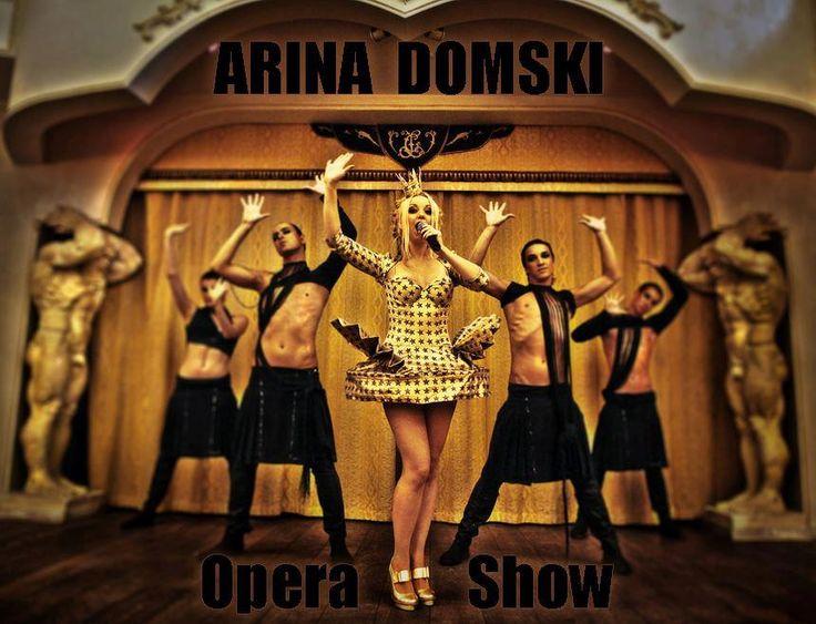 Miss Ukraine 2013 Arina Domski Age : 26 Height : 165 cm 34/24/35 Eurovision Song Contest. Popera Star