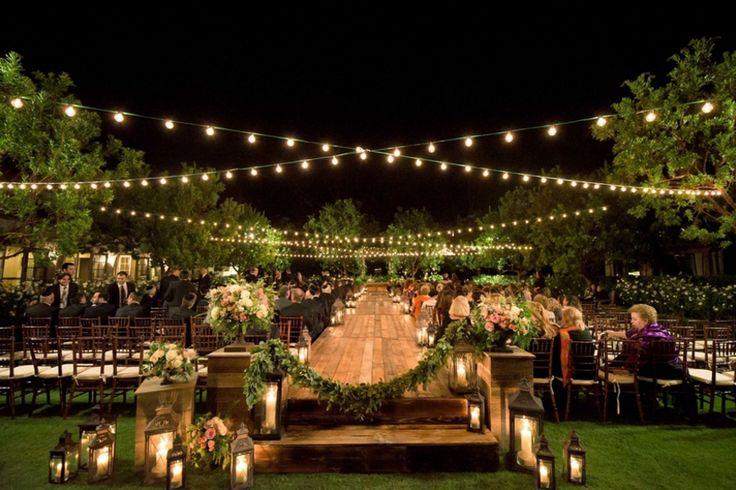 Cuidados para decorar um casamento no campo