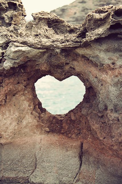 Heart near Nakahele Blowhole, by Rachel Follett