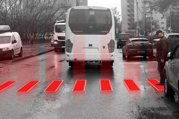 Paso de peatones inteligente por Alexey Chugunnikov