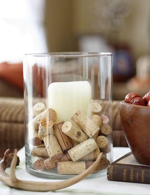 3 DIY Projects using Cork Vase Fillers ForRent.com #corks @LiveLaughRowe