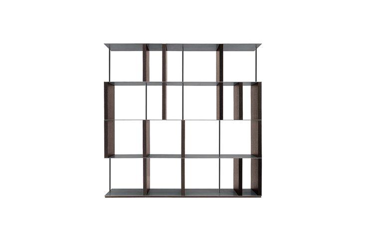 Manhattan - bookcase   Design: Bartoli Design