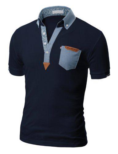 Doublju Mens Polo T-shirts with Short Sleeve NAVY (US-XS) Doublju http://www.amazon.com/dp/B00DFZ9F3K/ref=cm_sw_r_pi_dp_gAHNtb1419S6V99Q