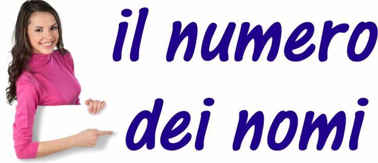 Il numero dei nomi: singolare e plurale