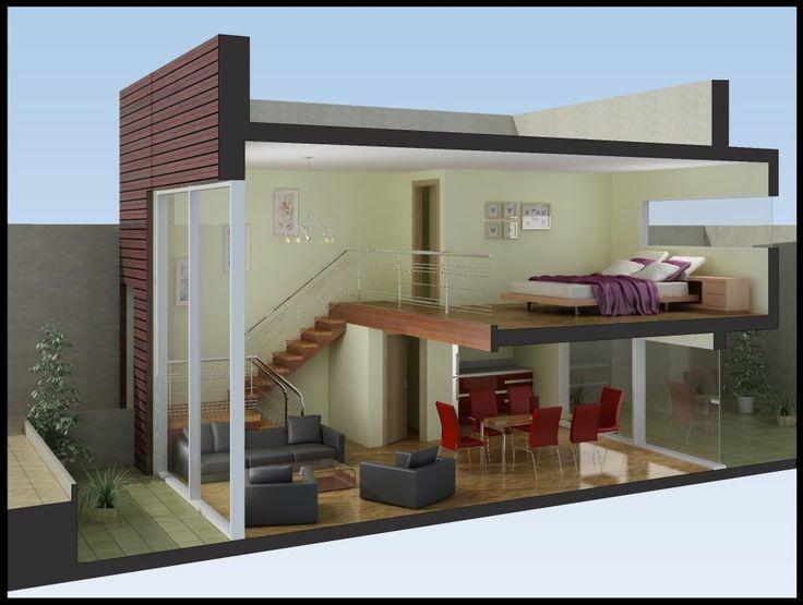 Pin de tanya su rez en casas pinterest ideas para for Modelos de casas minimalistas pequenas