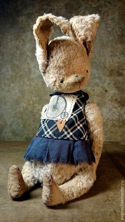 Купить JUNE SWEETY - бежевый, винтаж, винтажный стиль, коллекционная игрушка, авторская игрушка, тедди