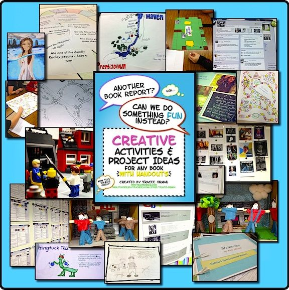 creative book report projects high school In this alternative to the traditional book report, students create book trailers using   if you've got lessons plans, videos, activities, or other ideas you'd like to   project several book trailers from the websites and/or show the one prepared for  the  from book trailers for readers, and how to survive middle school by  donna.