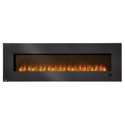 "Napoleon Electric Fireplace Insert with Glass Size: 72"" EFL72H,    #Napoleon,    #EFL72H,    #ElectricandGelFuelFireplaces"
