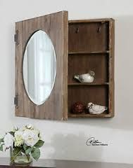 Image result for pictures of rustic bathroom medicine cabinets