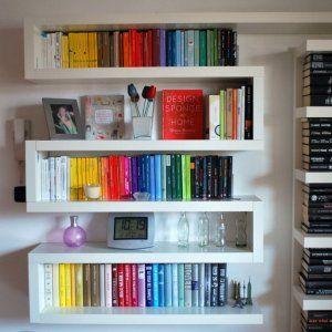 www.miaikea.com - Una libreria a zig zag ikea