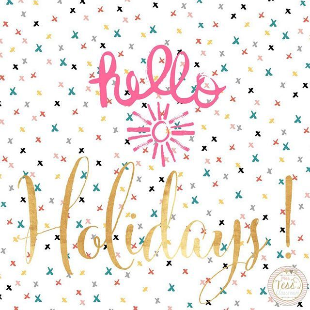 Yay for the first day of holidays 💕☀️ #schoolholidays20162017    #Regram via @misstessclassroom