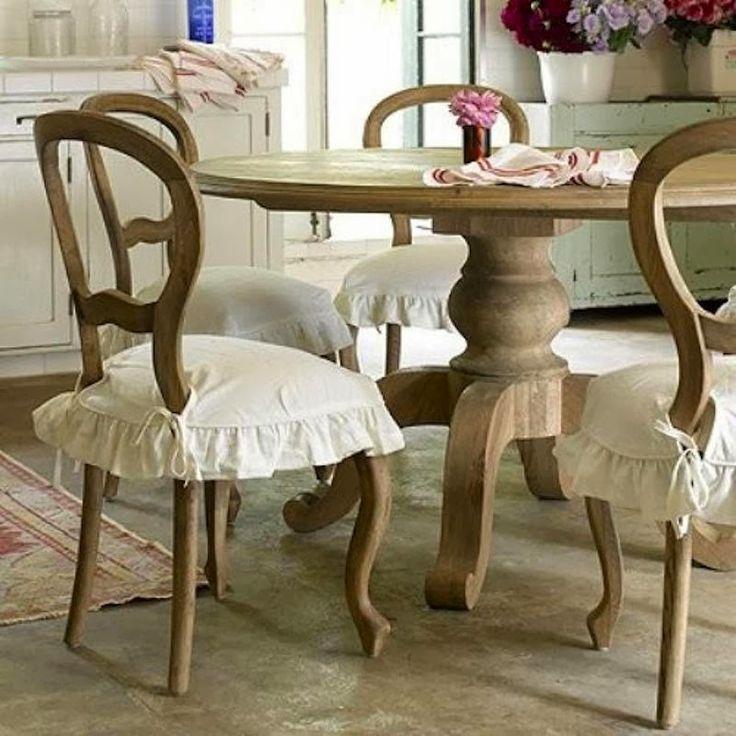 Cuscini per sedie in stile provenzale cose carine for Cuscini per sedie stile shabby