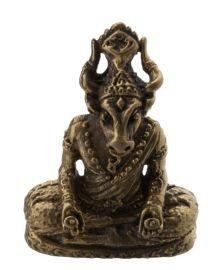 Phra lersi Ruersi Face Cow-amulette pendentif Thaï