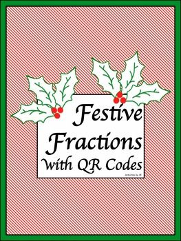 Happy Holidays!  These festive task cards include 78 questions (3 per card) and may be used in a variety of ways either with or without the QR Codes. Students will add, subtract, multiply, and divide fractions. Finding common denominators will be required and students will be working with mixed numerals.  Differentiate work by having students focus on specific skills such as subtraction with borrowing or multiplication of three numbers.