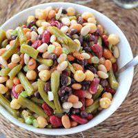 3+3 Bean Salad: Main Image