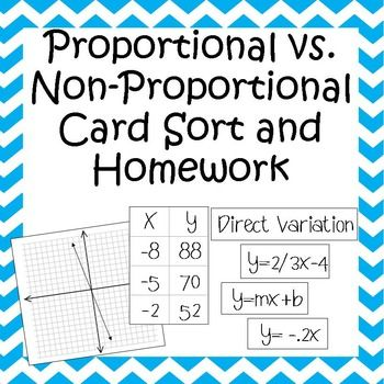 proportional vs non proportional card sort homework equation homework and tables. Black Bedroom Furniture Sets. Home Design Ideas