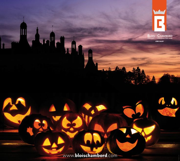 Bonne fête d'Halloween !  #ValdeLoire #Chambord #Halloween