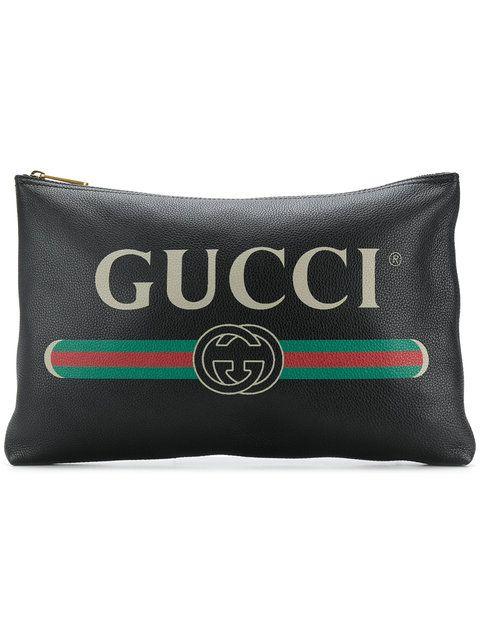343de199bd7d GUCCI LOGO CLUTCH BAG | Bags | Bags, Men clutch bag, Clutch bag