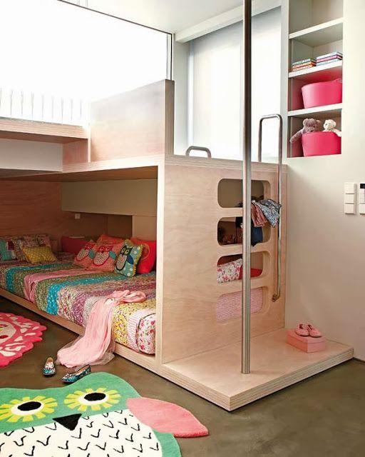 Jurnal de design interior - Amenajări interioare, decorațiuni și inspirație pentru casa ta: O cameră pentru 3 copii