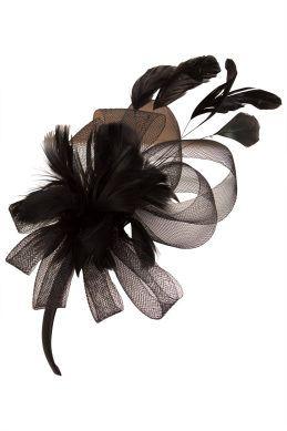 Ivys Dancing Girl Black Fascinator - Race Day Fashion - Womens Fascinators - Birdsnest Buy Online
