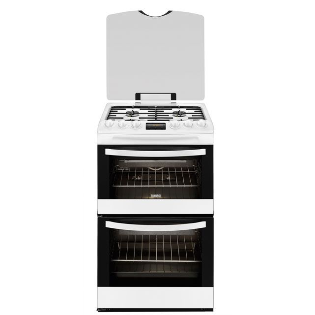 Zanussi Avanti ZCG43200WA Gas Cooker with Variable Gas Grill - White