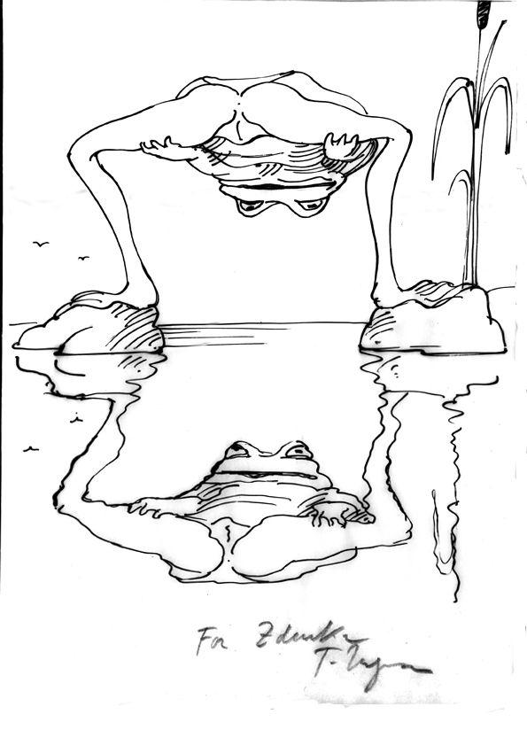 Tomi Ungerer  'Joy of Frogs'