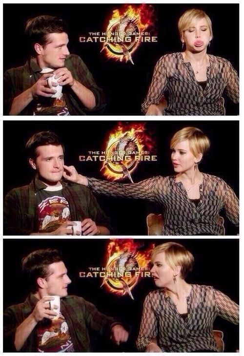 Lol haha funny pics / pictures / Jennifer Lawrence / Josh