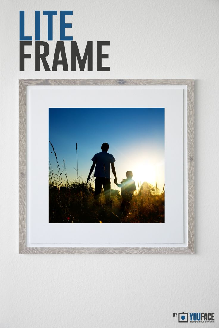 Lite Frame - Grey Wood Bold