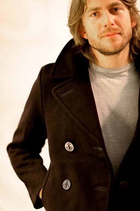 Original navy Pea Coat at $150.00 available at Shappere. Browse online now at http://www.shappere.com.au/men/vintage-jacket