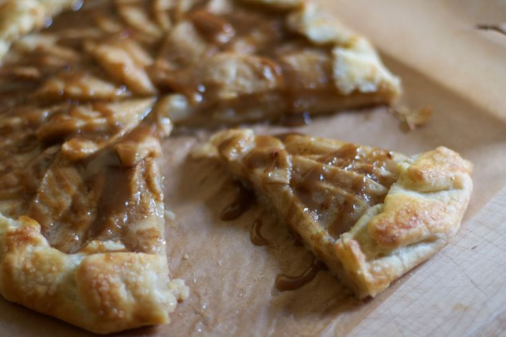 Toffee Pear Galette | Bake Sale | Pinterest