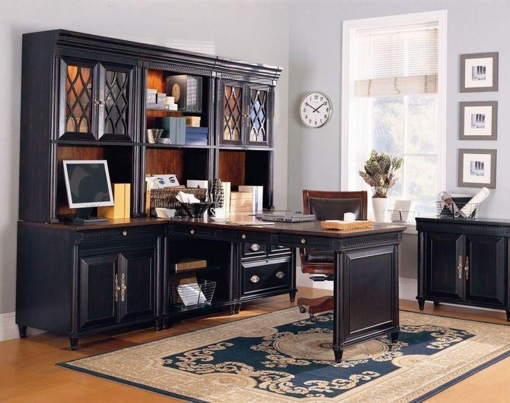Classic Wooden Custom Modular Home Office Furniture →  https://wp.me/p8owWu-2gy -
