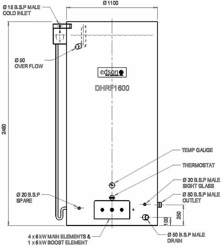hardie dux hot water system manual