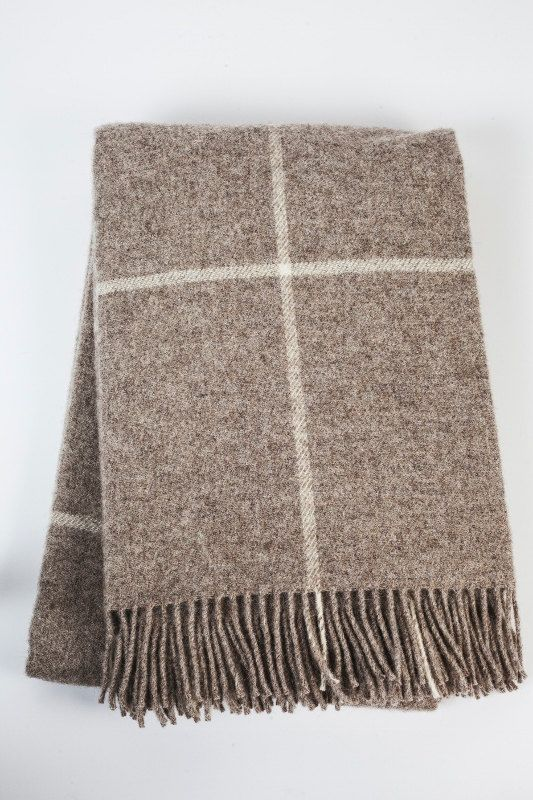 MADE IN EUROPE throws for sofa. Sofa throws. Plaid wool by BOTEH