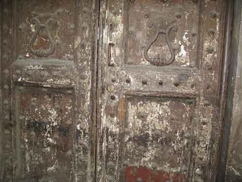 Ancient doors, Florence