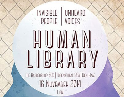 """Check out this @Behance project: """"Human Library 
