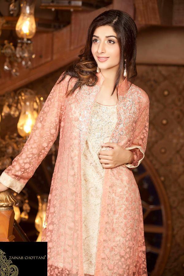 Zainab Chottani Pret Wear Dresses Collection 2015-16 for Women