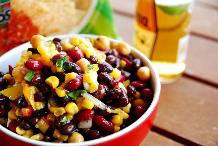 Mexican confetti bean salsa