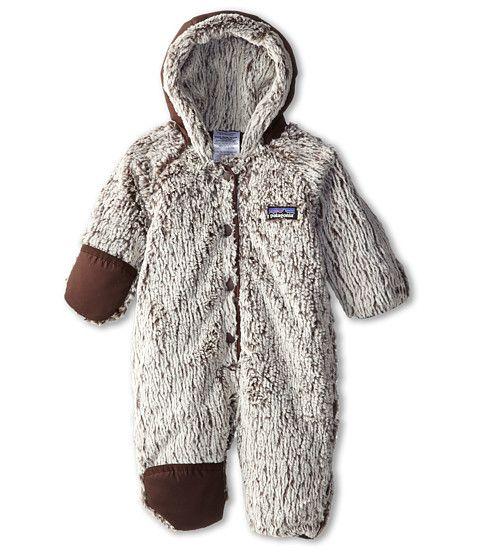 Patagonia Kids Baby Conejito Bunting (Infant/Toddler) Java Brown - 6pm.com