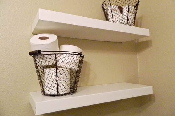 17 Best Images About Hanging Basket Shelves Shelf Ideas On Pinterest Storage Bins Hanging