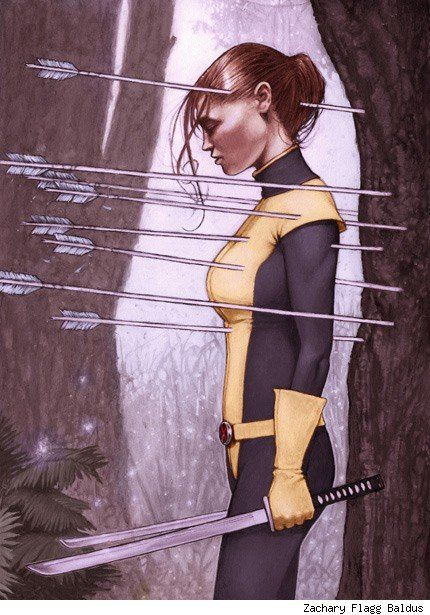 One of the most beautiful #KittyPryde pieces I've seen.
