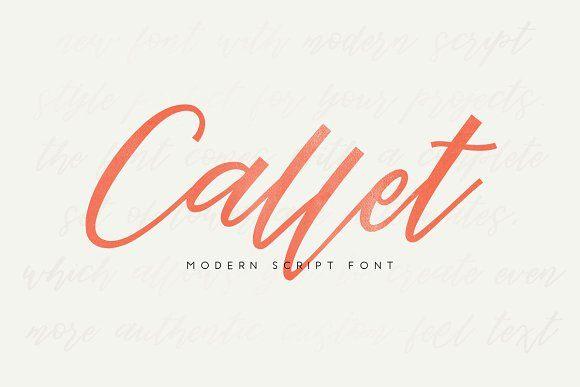Callet Script by vuuuds on @creativemarket