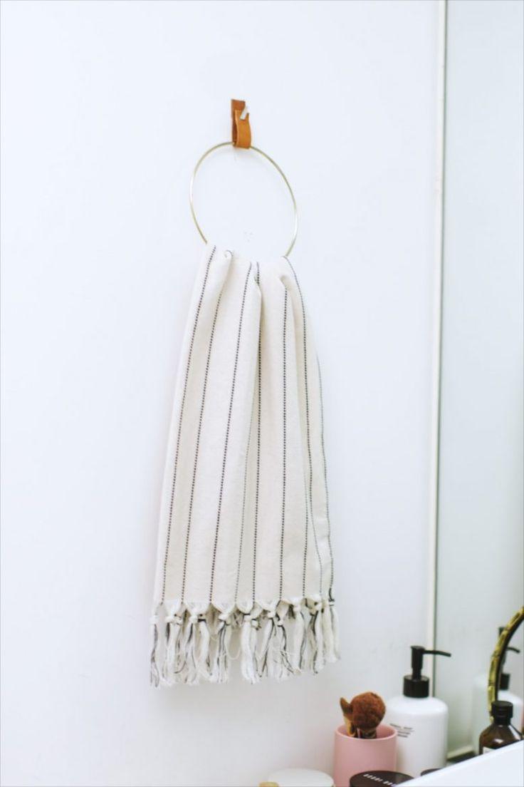 DIY Ring Towel Holder