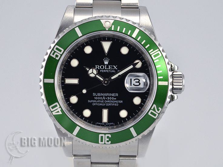 Used ROLEX Submariner Date 16610LV serial number that begins with V