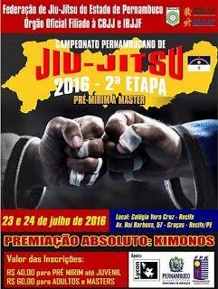 Lutador de jiu-jitsu: Campeonato Pernambucano de jiu-jitsu 2016