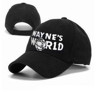 Wayne's World Hat costume Waynes World cap embroidered baseball cap version onlycos http://www.amazon.com/dp/B00B7WR2LU/ref=cm_sw_r_pi_dp_cLjrub1J9NVHM
